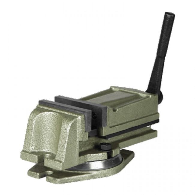 Тиски станочные Stalex MVA100 с поворотным основанием
